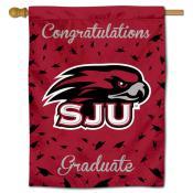 SJU Hawks Graduation Banner