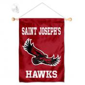 SJU Hawks Small Wall and Window Banner
