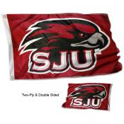SJU Hawks Stadium Flag