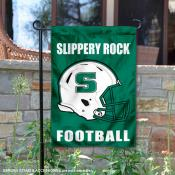 Slippery Rock Football Garden Flag