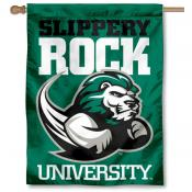 Slippery Rock University Logo House Flag