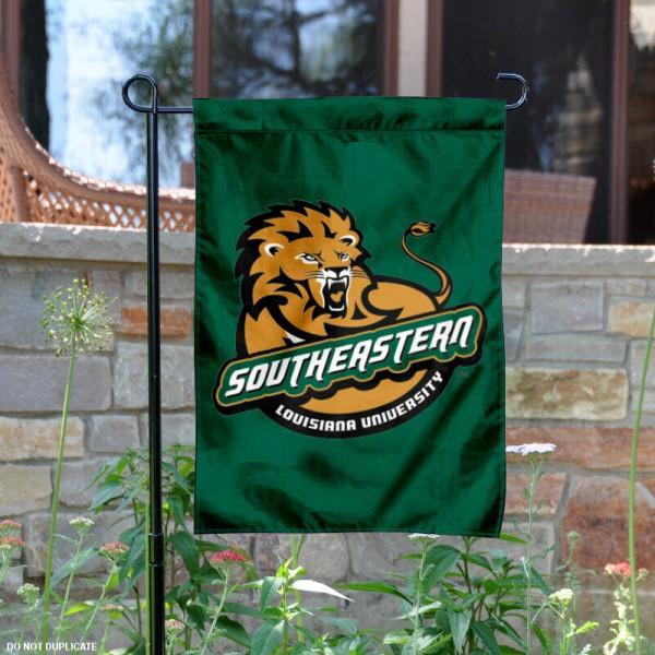 SLU Lions Garden Flag