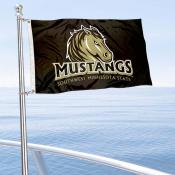 SMSU Mustangs Boat Nautical Flag