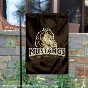 SMSU Mustangs Double Sided Garden Flag
