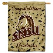 SMSU Mustangs Graduation Banner