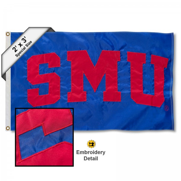 SMU Mustangs 2x3 Flag