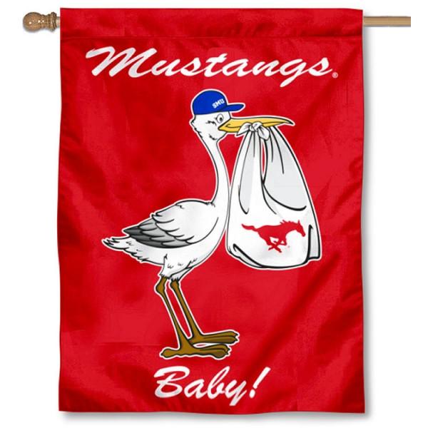 SMU New Baby Banner