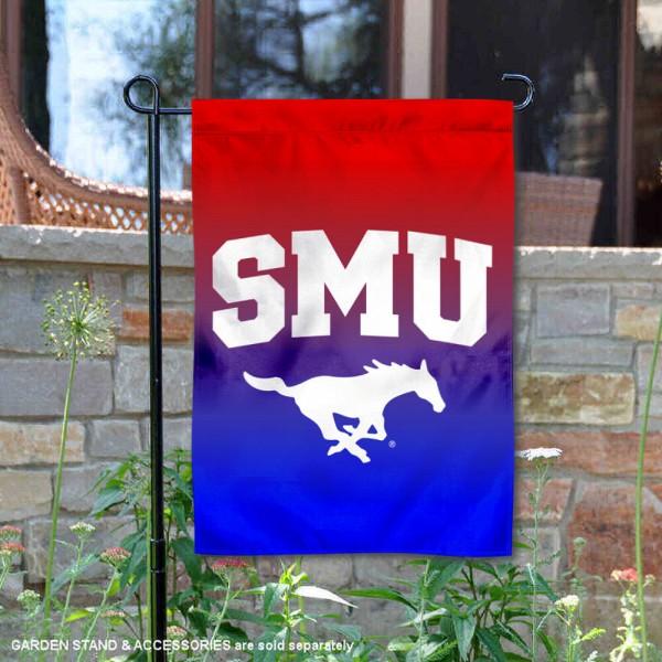 SMU Two Tone Garden Banner