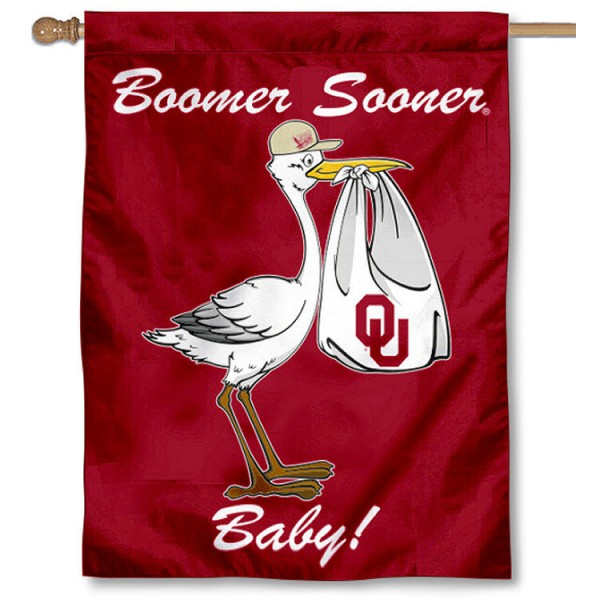Sooner New Baby Banner