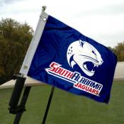 South Alabama Jaguars Golf Cart Flag