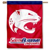 South Alabama Jaguars House Flag