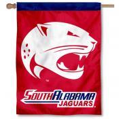 South Alabama Jaguars House Flag