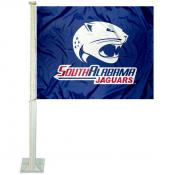 South Alabama USA Jaguars Car Flag