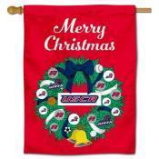 South Carolina Aiken Pacers Christmas Holiday House Flag