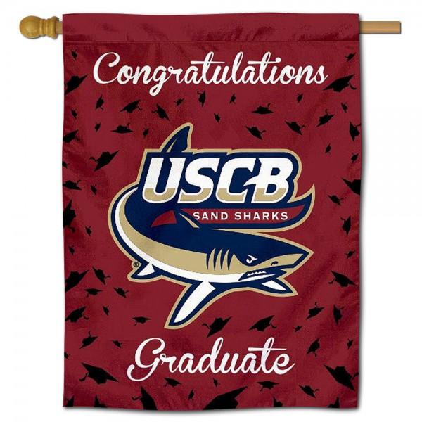 South Carolina Beaufort Sand Sharks Graduation Banner