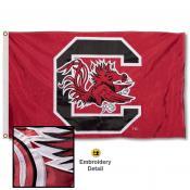 South Carolina Gamecocks Appliqued Nylon Flag