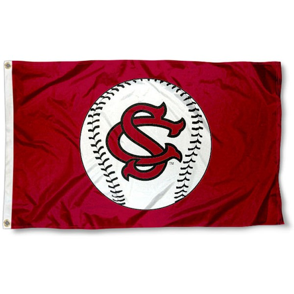 South Carolina Gamecocks Baseball Flag