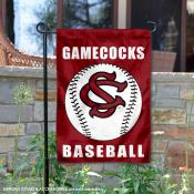 South Carolina Gamecocks Baseball Garden Flag