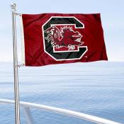 South Carolina Gamecocks Boat Flag
