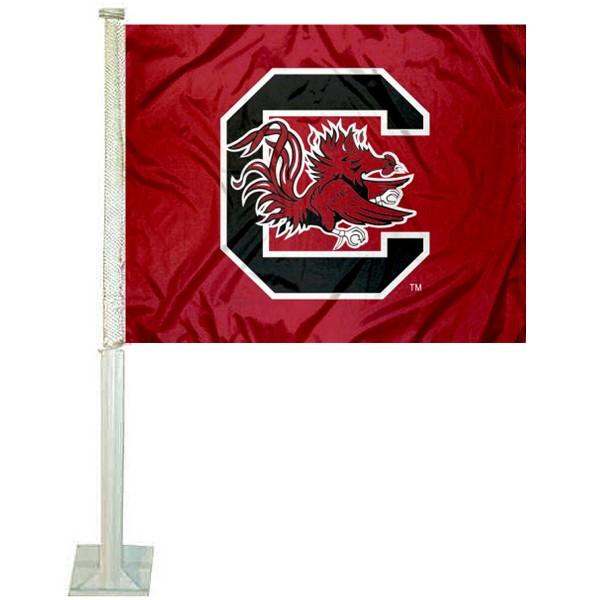 South Carolina Gamecocks Car Flag