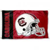 South Carolina Gamecocks Football Helmet Flag