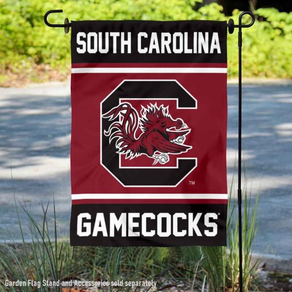 South Carolina Gamecocks Garden Flag