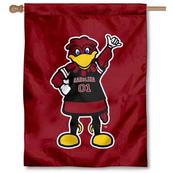 South Carolina Gamecocks Mascot House Flag
