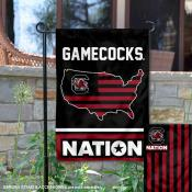 South Carolina Gamecocks Nation Garden Flag