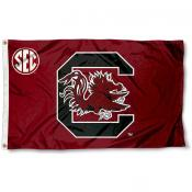 South Carolina Gamecocks SEC Flag