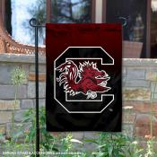 South Carolina Gamecocks Two Tone Garden Banner