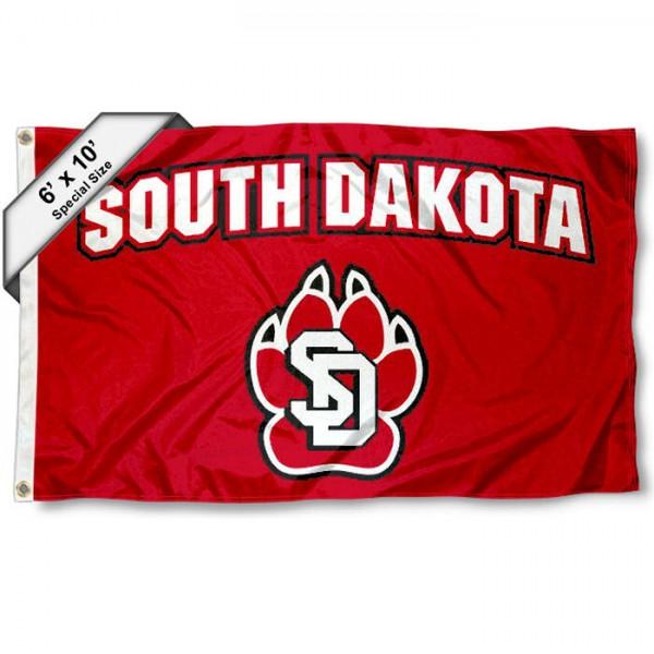 South Dakota Coyotes 6x10 Foot Flag