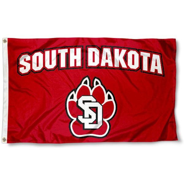 South Dakota Coyotes Flag