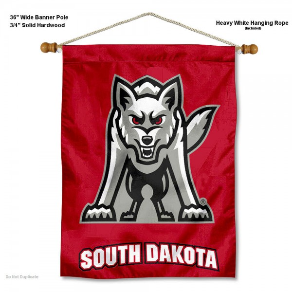 South Dakota Coyotes Wall Hanging