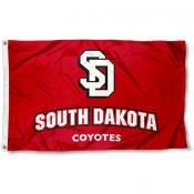 South Dakota USD Coyotes Flag