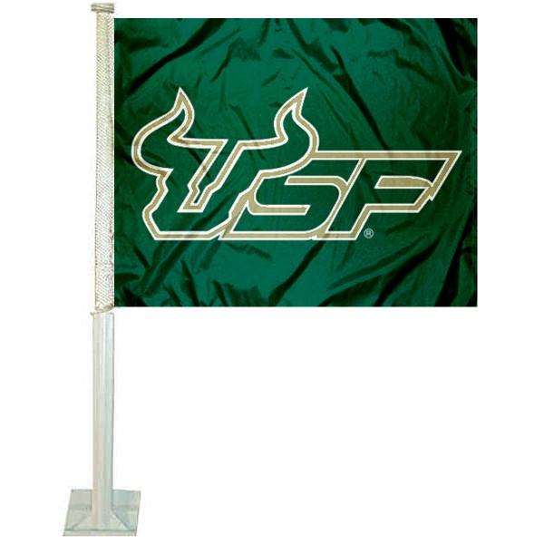 South Florida Bulls Car Flag