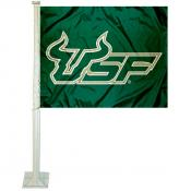South Florida Bulls Car Flag
