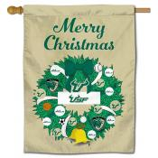 South Florida Bulls Christmas Holiday House Flag