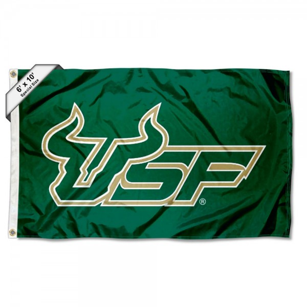 South Florida Bulls Large 6x10 Flag