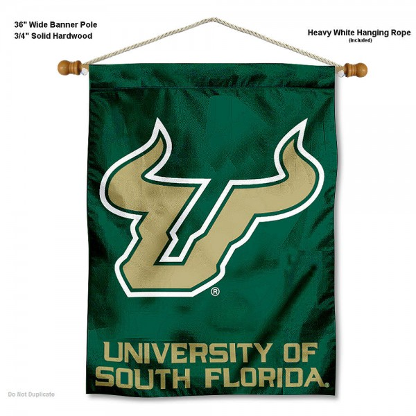 South Florida Bulls Wall Hanging