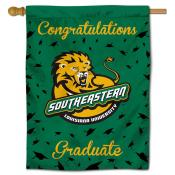 Southeastern Louisiana Lions Graduation Banner