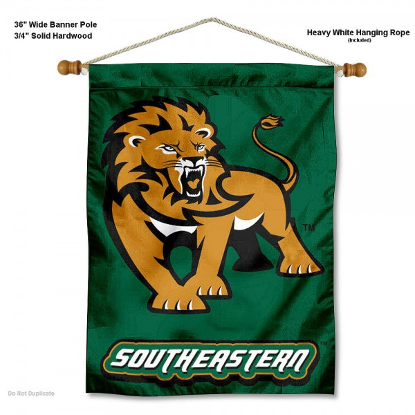 Southeastern Louisiana Lions Wall Hanging