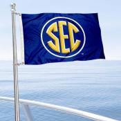 Southeastern SEC Conference Mini Flag