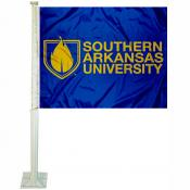 Southern Arkansas Muleriders Car Flag