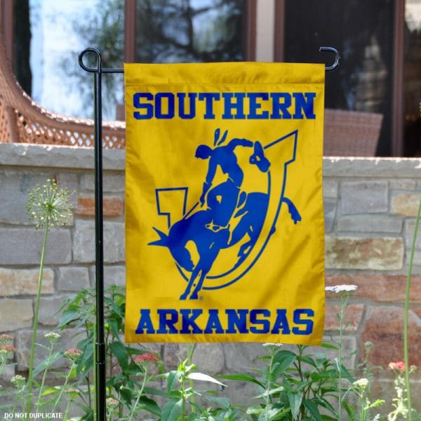 Southern Arkansas Muleriders Garden Banner