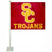 Southern Cal Trojans Car Flag
