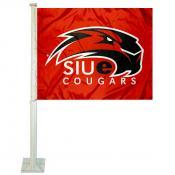 Southern Illinois Edwardsville Cougars Logo Car Flag