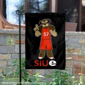 Southern Illinois Edwardsville Cougars Mascot Eddie Garden Flag