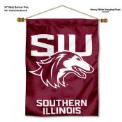 Southern Illinois Salukies Banner with Pole
