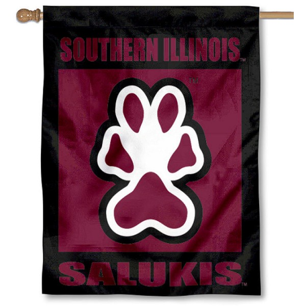 Southern Illinois Salukis House Flag