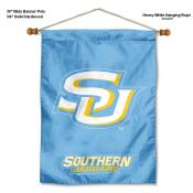 Southern Jaguars Banner with Pole